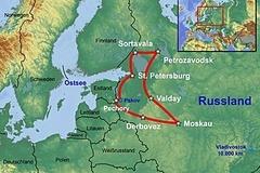 Reisen und Touren: Moskau und St.Petersburg - XXL