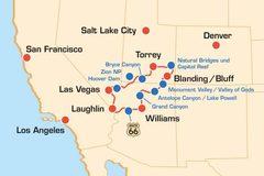 Reisen und Touren: Südwesten USA