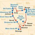 Reisen und Touren: Wild West & Rocky Mountains