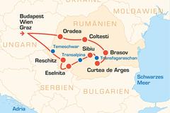 Reisen und Touren: Rumänien – Die Südkarpaten