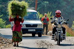 Motorcycle Tour: Garhwal (Himalayas) round trip