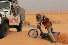 Reisen und Touren: Tunesien: Mit dem Mofa durch die tunesische Sahara