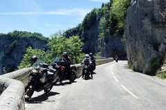 Motorradreise / Tour: 8 Tage Französischen Seealpen