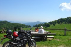 Motorcycle Tour: Driving fun in Alsace