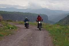 Motorcycle Tour: Churches - Monasteries - Cognac and caravanserais
