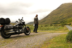 Motorcycle Tour:  Short trip Ireland West without guide