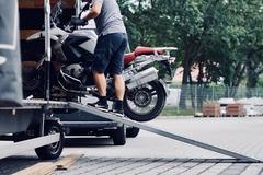 Motorbike shipping: Motorcycle shipping Germany - Barcelona