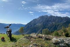 Motorcycle Tour: Lombardy: Trail Riding at the foot of the Alps