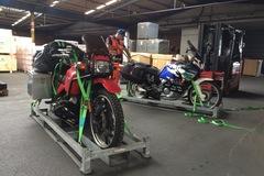 Motorrad-Transport: Motorradtransport Kanada Seefracht mit Ro/Ro nach Halifax