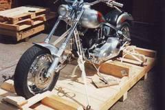 Motorrad-Transport: Motorradtransport Kanada Luftfracht