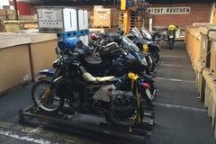 Motorrad-Transport: Motorradtransport Chile, Luftfracht