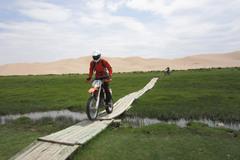 Motorcycle Tour: Gobi Desert Motorcycle Trail in Mongolia
