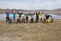 Motorcycle Tour: Khorgo Volcano & White Lake Motorcycle Trail
