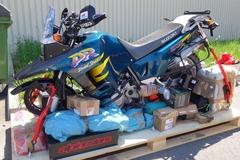 Motorbike shipping: Motorcycle Shipping: Germany/Europe to Mongolia