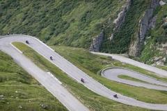Reisen und Touren: Königliche Alpen 2017 - Ducati only